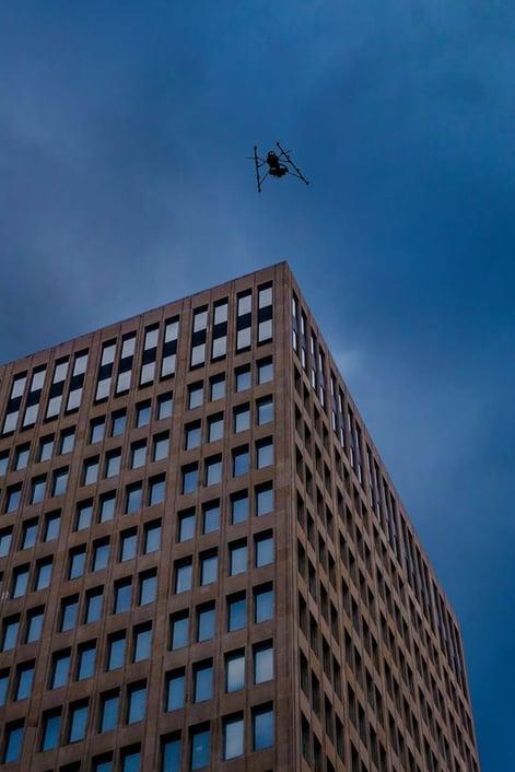 drone building inspection - Industrial SkyWorks