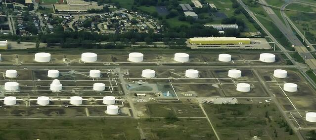 Drone Inspection of Storage Tank_Industrial_SkyWorks