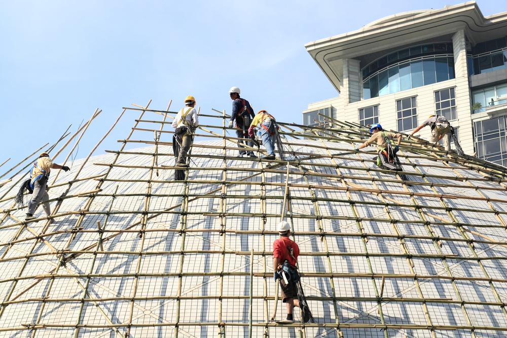 building a scaffold with bamboo in Hong Kong.jpeg